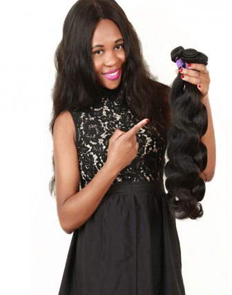 Indian remy bodywave weave bundel