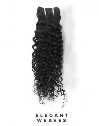 Peruvian remy kinky curly weave bundel