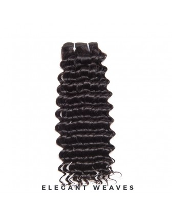 Brazilian remy Virgin kinky curly weave bundel