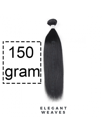 XL bundel 150 gram virgin straight weave bundel