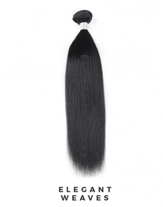 Indian remy straight weave bundel