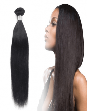 Brazilian remy straight weave bundel